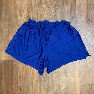 Womens 24th & Ocean swim shorts Large Blue